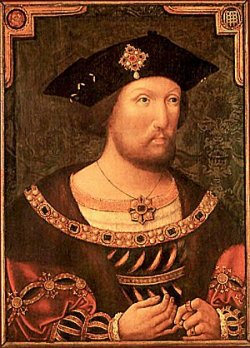 King Henry VIII took the Church of England out of papal control.